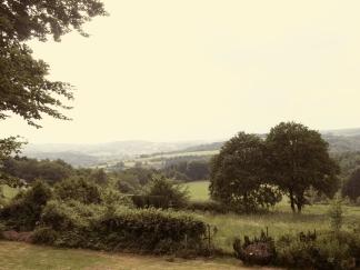 Ferienwohnung Talblick Windeck - Aussicht ins Windecker Tal